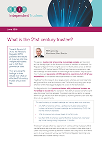"Image for opinion ""What is the 21st century trustee?"""