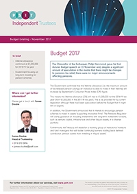 "Image for opinion ""Budget 2017 - The Chancellor gives his first Autumn Budget speech """