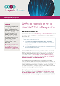 "Image for opinion ""GMPs: to reconcile or not to reconcile? That is the question."""