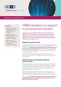 "Image for opinion ""HMRC strengthens its approach to combat pension liberation"""