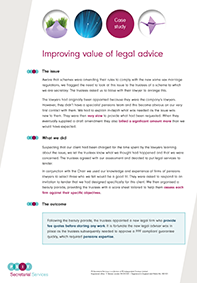 "Image for opinion ""Improving the value of legal advice"""