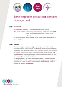 "Image for opinion ""Benefiting from outsourced pensions management"""