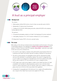 "Image for opinion ""Trust as a principal employer"""
