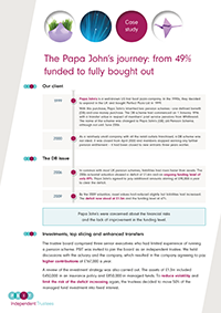 "Image for opinion ""The Papa John's journey: from 49% funded to fully bought out """