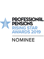 "Image for opinion ""Curtis Mitchell nominated for Professional Pensions Rising Star Awards 2019 """