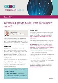 "Image for opinion ""Diversified growth funds: what do we know so far?"""