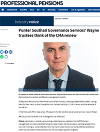 "Image for opinion ""What independent trustees think of the CMA review"""