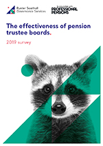 "Image for opinion ""Only 56% of pension trustee boards assess their performance – trustee effectiveness research"""