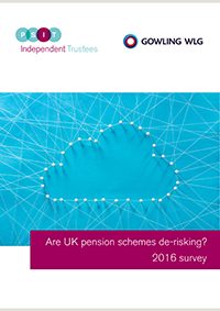 "Image for opinion ""De-risking on the agenda for 91% of pension schemes - survey results """