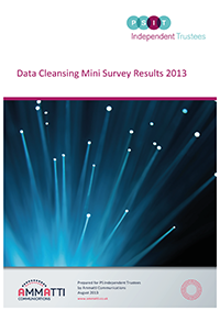 "Image for opinion ""Pension scheme data cleansing - survey results"""