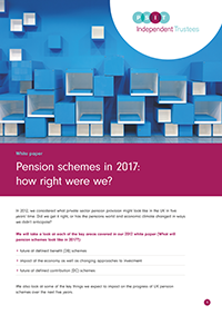 "Image for opinion ""Pension schemes in 2017: how right were we?"""